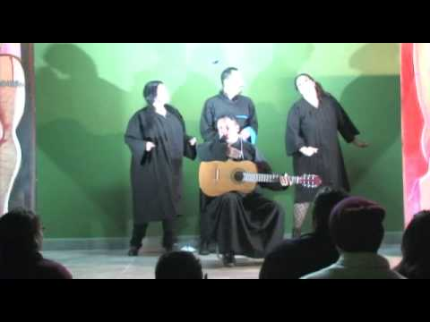 """N.R.D.A. espectáculo de cabaret. De """"Colonche Cabaret""""."""