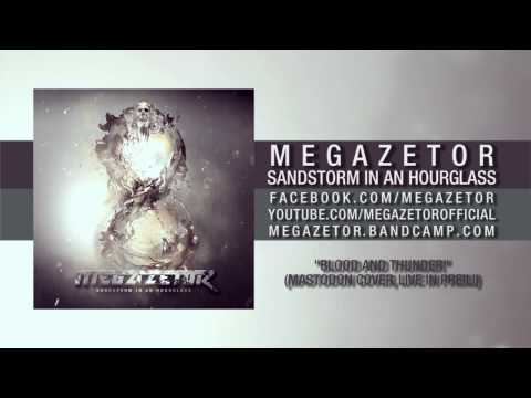 Megazetor - Blood and Thunder (Mastodon cover, live in Preili)