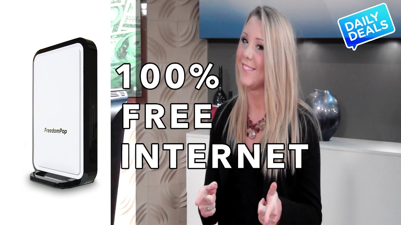How To Get FREE Home Internet The Deal Guy