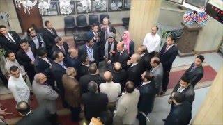 الوفد المرافق لخادم الحرمين الملك سلمان بن عبد العزيز يصل دار أخبار اليوم