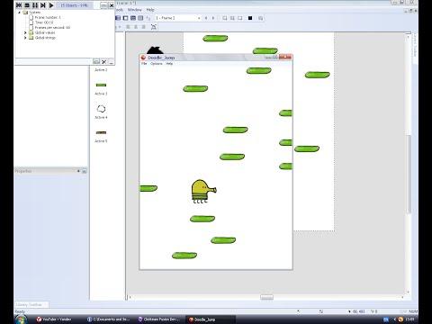 Как сделать Doodle Jump в Clickteam Fusion 2.5