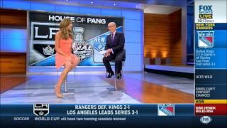 Charissa Thompson & Jenny Taft (Fox Sports 1)