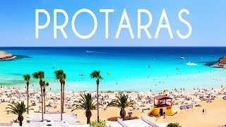 All Protaras and Paralimni 10 km Of The Coast 4K Drone Review Cyprus