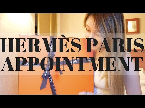 HERMES PARIS APPOINTMENT SYSTEM FOR LEATHER BAGS | EXPERIENCE AND TIPS | Cherry Tung
