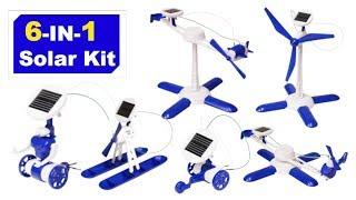 ပညာရေးဆိုင်ရာ DIY Build - 6 1 နေရောင်ခြည်စက်ရုပ် Kit ၌တည်၏။