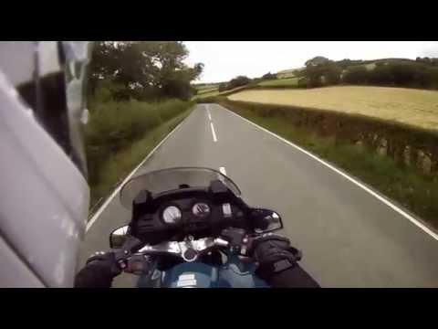 Motorcycling the A548 Llanrwst Road(BMW R1150rt)