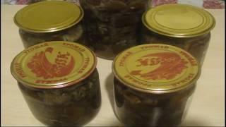 Маринованные опята на зиму  Самый вкусный маринад
