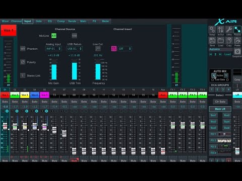 X AIR How To: Auto Mixing in Depth