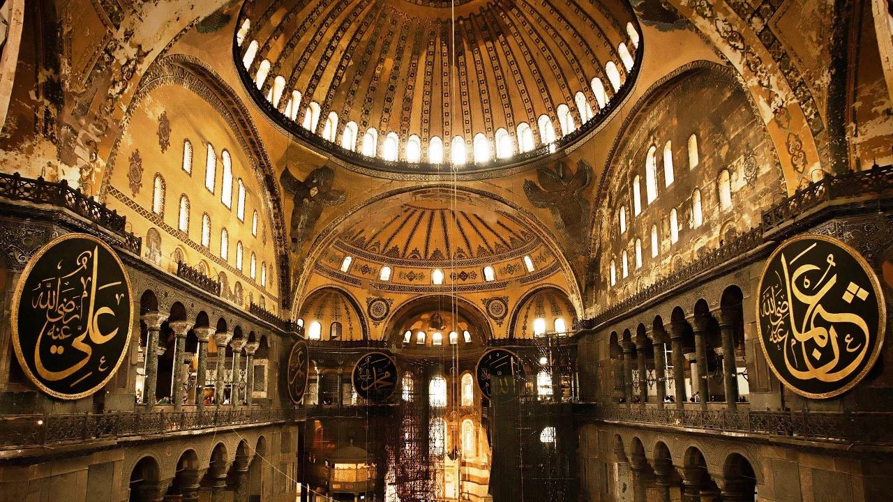 Hagia Sophia - #Istanbul - Turkey 4K Ultra HD 2160p - YouTube
