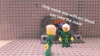 Lego ninjago season 8 game of masks scene recreation