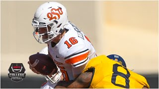 West Virginia Mountaineers Vs. Oklahoma State Cowboys | 2020 College Football Highlights