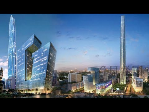 bangkok(THAILAND) AMAZING transformation and its future MEGA PROJECT.