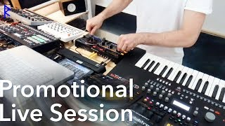 Powerful Club Techno - Promo Live Session [Elektron machines only]