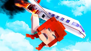 THE CRASH !? - Stranded (Minecraft Survival Roleplay ) [ Episode 1 ]