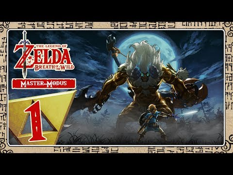 THE LEGEND OF ZELDA BREATH OF THE WILD [MASTER-MODE] Part 1: Hard Mode Live!
