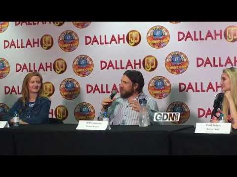 WWE superstar Daniel Bryan addresses the Bahrain Comic Con Press conference