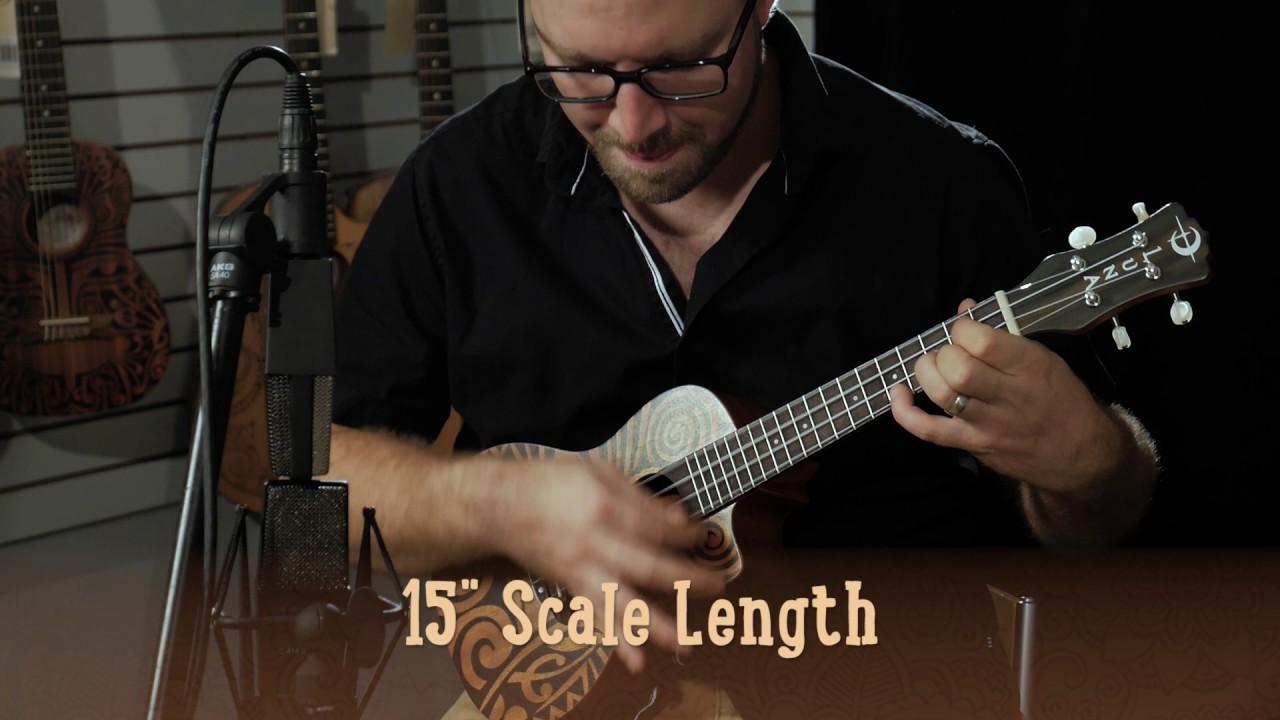Luna Guitars UKE Tribal ukelele de concierto