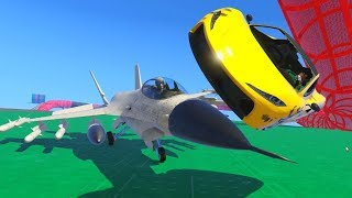 TAKEN OUT BY A JET?! - GTA 5 Funny Moments #715