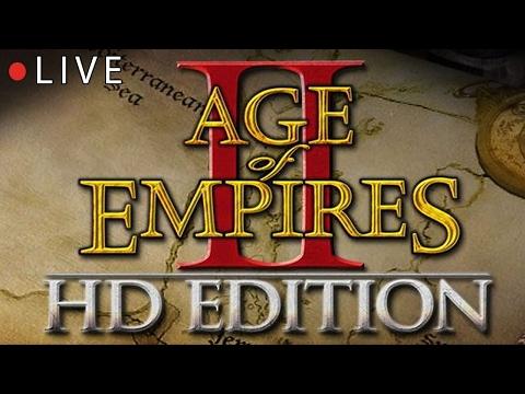 LIVE - Age of Empires II tutti contro tutti