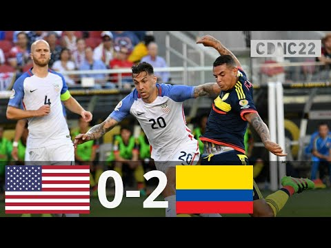 Usa Vs Colombia 0 2 All Goals And