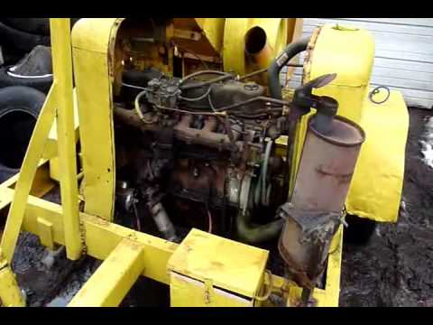 Ford Powered Aslundh Chipper First Run in Years  YouTube