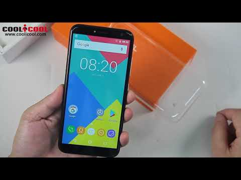 OUKITEL C8 Unboxing Hands On Video2