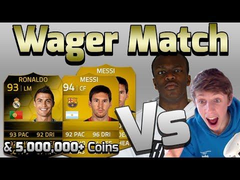 FIFA 14   KSIOlajidebt VS WroetoShaw   5,000,000+ Coin Wager