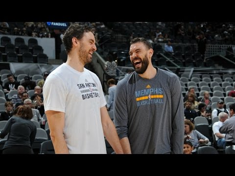 The Brothers Gasol: Marc and Pau's Best of the 2016-17 Regular Season