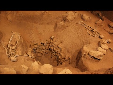Rare View Inside A Burial Mound - Human Sacrifice Evidence