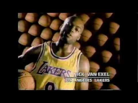 271108a9a0ea Nick Van Exel Fox Sports West 1997 Commercial - YouTube