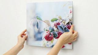 Your Photo on Acrylic with Aluminium