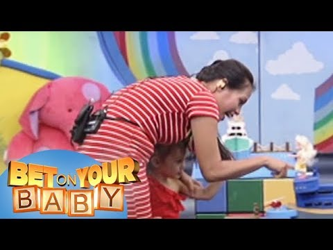 Bet On Your Baby: Baby Dome challenge with Mommy Rica and baby Klay Klay
