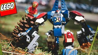 MONTANDO LEGO MARVEL SUPER HEROES - HOMEM DE FERRO E O ROBÔ INIMIGO DA HULKBUSTER
