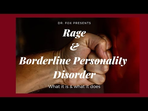 Rage And Borderline Personality Disorder - Identifiers, Triggers, And Management