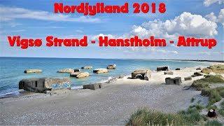 Nordjylland 2018 - Vigsø Strand. Hanstholm, Attrup