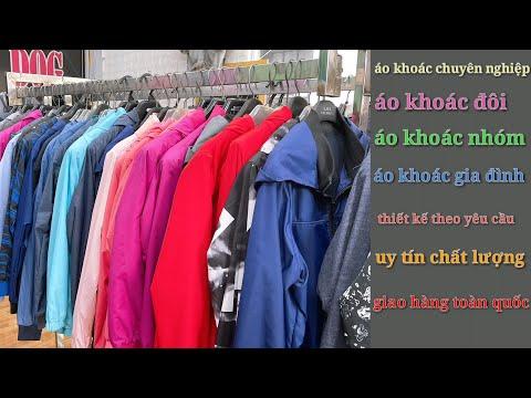 May áo Khoác Dù 2 Lớp #3may Thành Phẩm