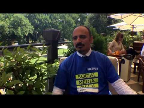 Carlo Medaglia, Presidente e Ad Agenzia per la Mobilità di Roma alla Social Media Week Rome #smwrme