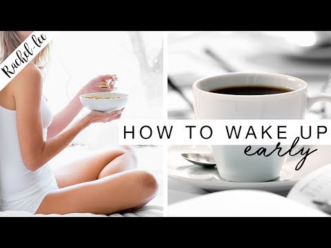 How To Wake Up Early! Become A Morning Person | Motivation Monday