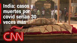 India: algunos pacientes se quedan fuera de los hospitales esperando atención o la muerte
