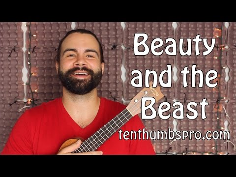 Beauty and the Beast - Disney Ukulele Song Tutorial