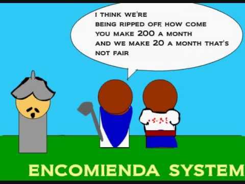 encomienda system www