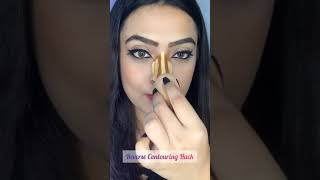 We Tried The Reverse Contouring Hack   Did It Work?   #shorts   SUGAR Cosmetics