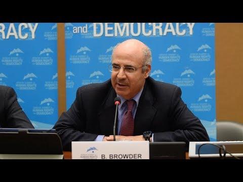 Bill Browder at the 2018 Geneva Summit opening