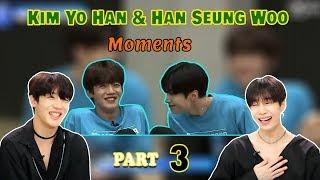  EngSub [Produce X 101] Kim YoHan & Han SeungWoo Moment Part 3 (Cut Version)