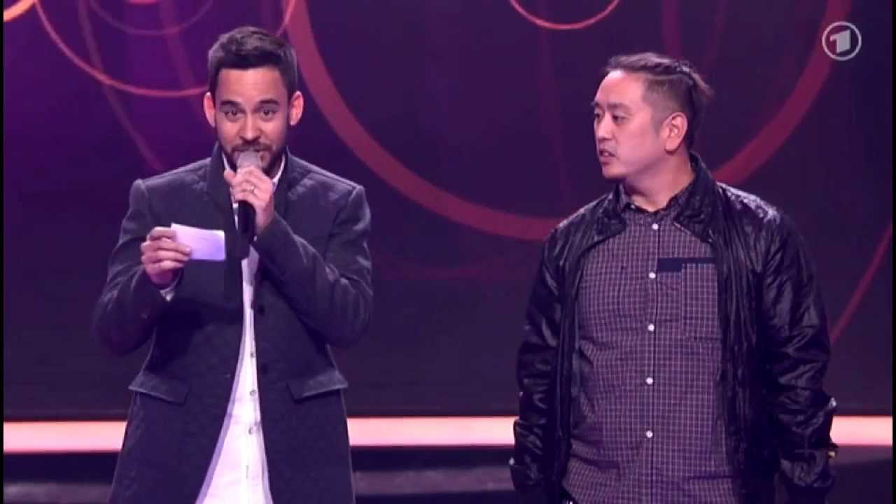 Mike Shinoda speaks German [Echo Awards 2013]