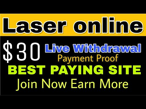 LASER Online Live Withdrawal Proof | Best Site Join Now Earn More | (hindi) Workwithdileep