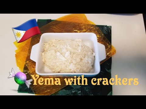 Yema With (Skyflakes) Crackers - Filling For Buchi (Butse)