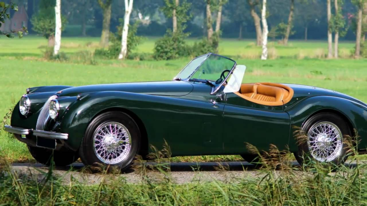 High Quality 1953 Jaguar XK 120 OTS (roadster)
