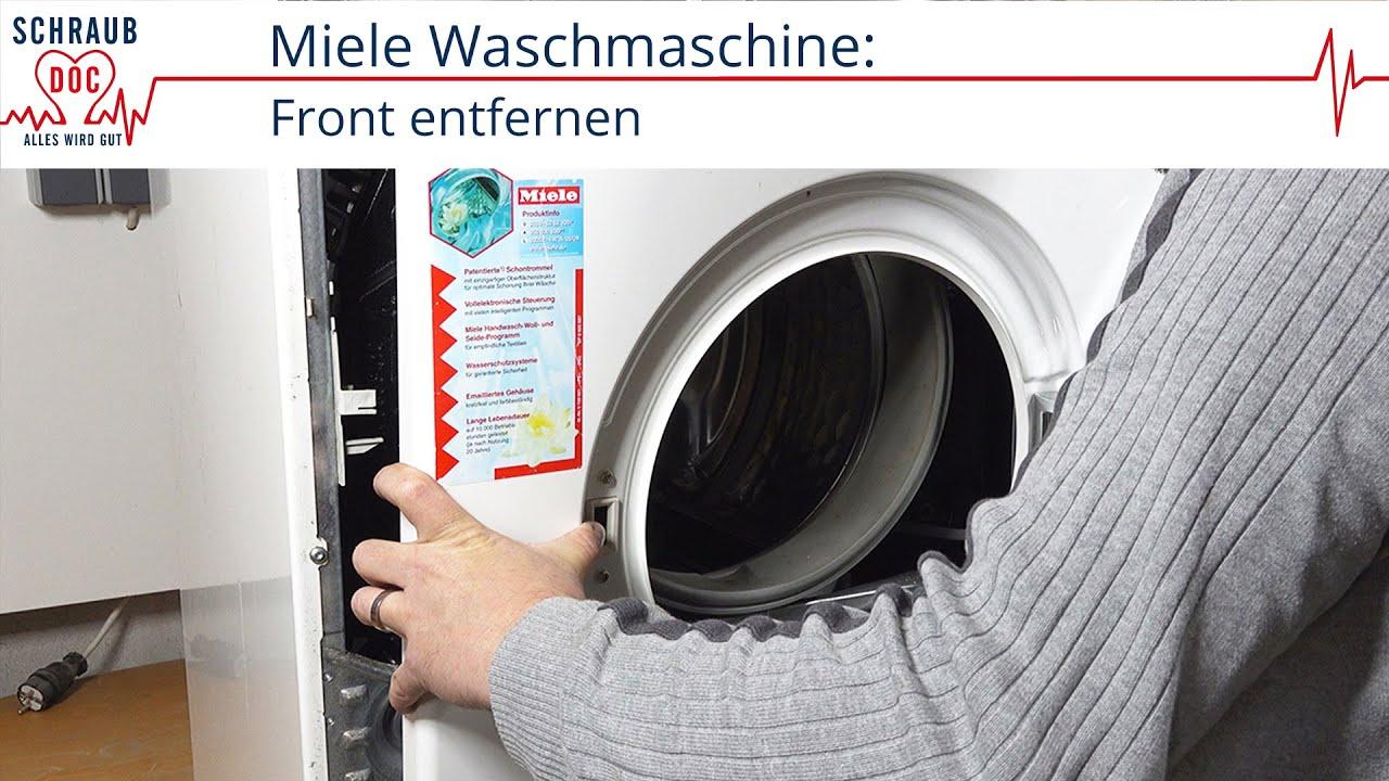 Bekannt Miele Waschmaschine - Front öffnen - YouTube PN89