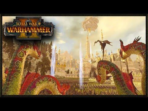 Tower Of Hoeth Under Siege - Total War Warhammer 2 Mod Gameplay